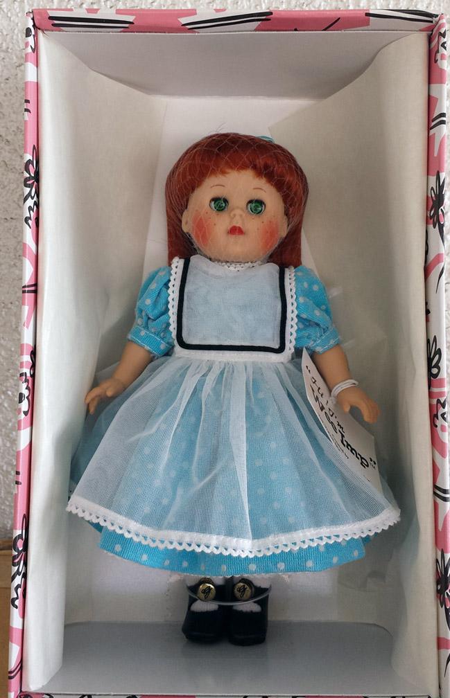 Vogue Wee Imp Reissue Ginny Doll In Aqua Dress 2002 Ebay